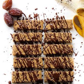 Banana Date Granola Bars