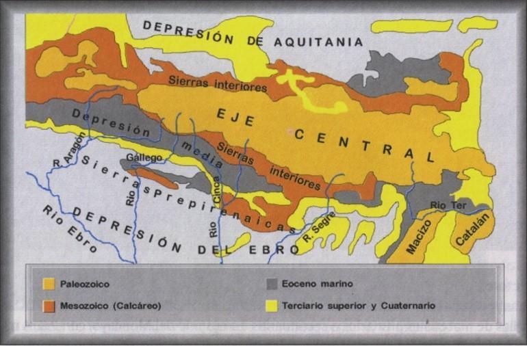 Resultado de imagen de pirineos zona axial