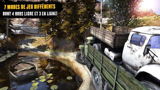 Chauffeur de camion: Offroad 2 APK MOD screenshots 2