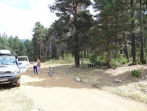Photo: Arret pique nique dans la Bosc des Tossal