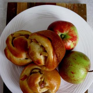 Challah Apple Rolls for Rosh Hashanah Recipe