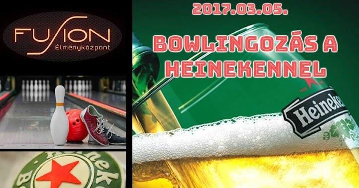 Most vasárnap bowlingozzon mindenki a Heinekkennel 2017.03.05