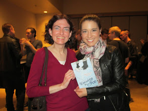 Photo: With Alissa Czisny (I gave her a copy of my book since she loved the Edge series!)