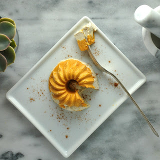 Vegan Pumpkin Cashew Cheesecake