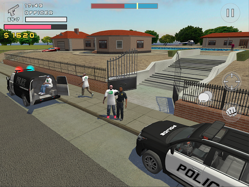 Police Cop Simulator. Gang War apkmr screenshots 12