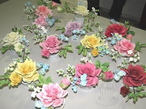 Photo: Teilnehmer-Rosengestecke 1./2. Februar