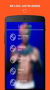 Justin Bieber Top Lyrics - náhled