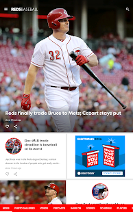 Cincinnati.com Reds Baseball- screenshot thumbnail