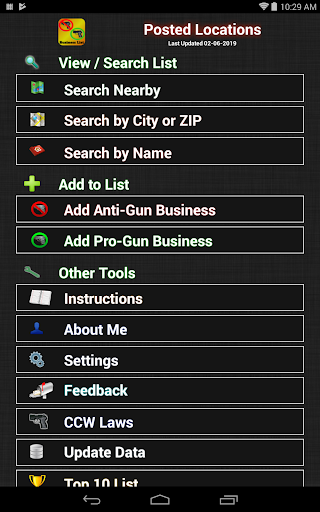 Screenshot for Posted! - List Pro & Anti Gun Carry Locations in Hong Kong Play Store