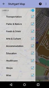 stuttgart city map lite android apps on google play. Black Bedroom Furniture Sets. Home Design Ideas
