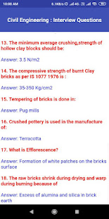Download Civil Engineering Interview Questions For PC Windows and Mac apk screenshot 2