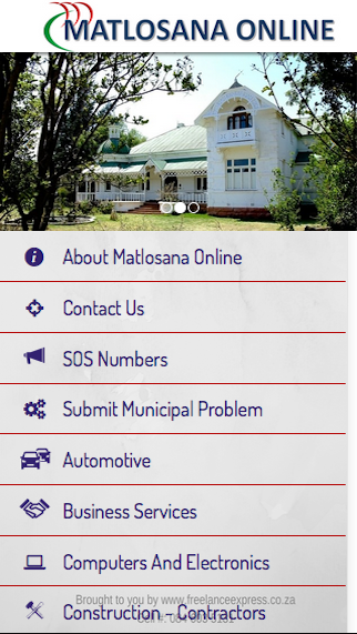 Matlosana Online- screenshot