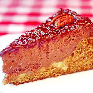 Chocolate Hummingbird Cheesecake.
