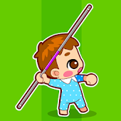 Baby javelin throw