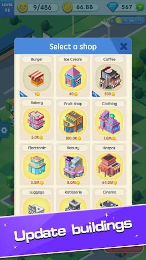 Shopping Mall Tycoon [Mod] Apk - Phố thương mại