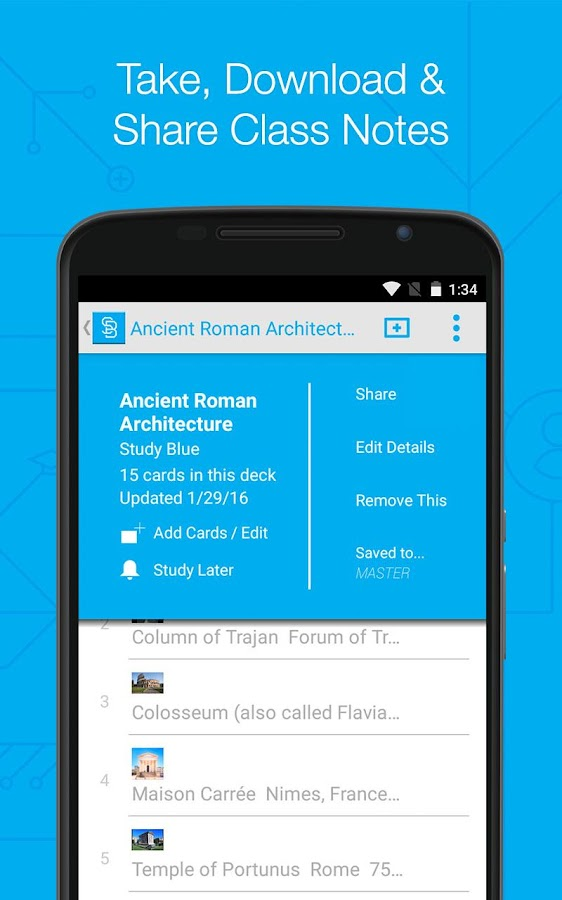 StudyBlue Flashcards & Quizzes- screenshot