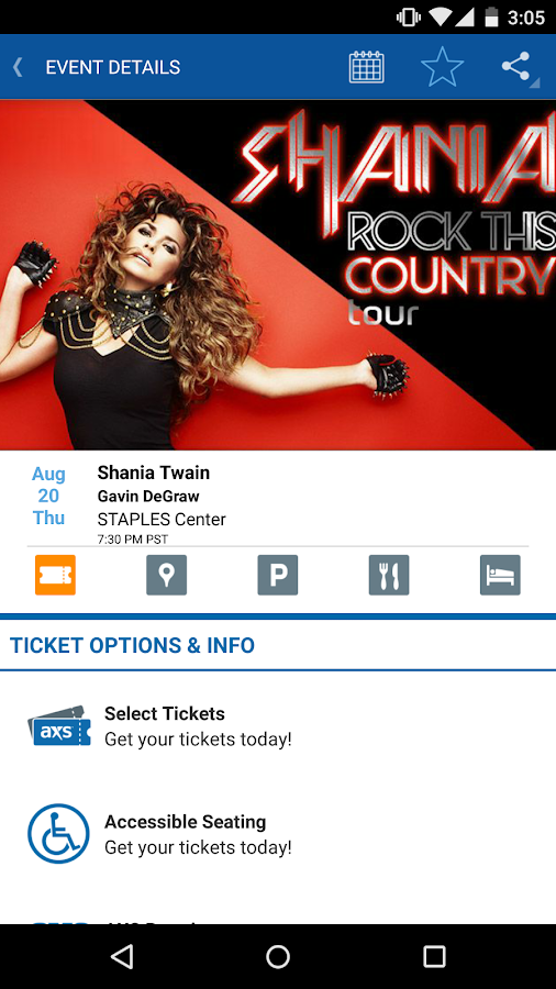 AXS Tickets, Concerts & Sports- screenshot