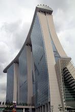 Photo: Marina Bay Sands @ Singapore - http://photo.leptians.net/#Marina_Bay_Sands
