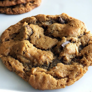 Chocolate Chip Peanut Butter Cookies (Gluten free and Vegan).