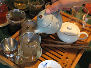Photo: Bao Zhong Green Tea was one of the popular teas at the event.