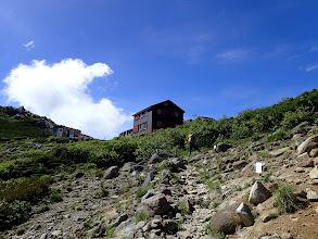 水場から西駒山荘