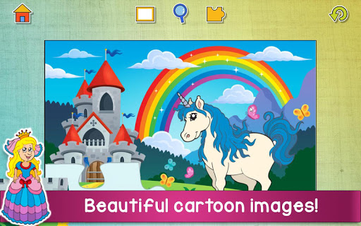 Jigsaw Puzzles Game for Kids & Toddlers 🌞 apkbreak screenshots 1