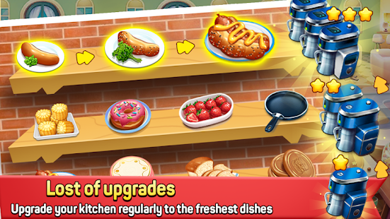 Fast Restaurant - Crazy Cooking Chef madness Screenshot
