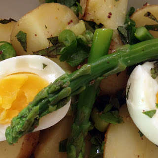 New Potato Salad with Spring Vegetables and Egg