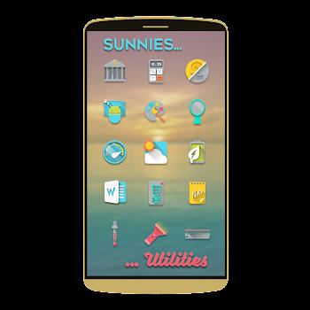 بۆ ئهندرۆید Sunnies Icon pack v1.3.2 APK