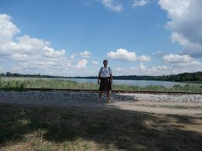 Photo: Vlak zrovna nejede, tak jdu do Lednice bosky www.kiltpocesku.cz