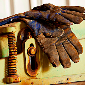 The Gloves by Merna Nobile - Products & Objects Industrial Objects ( hands used, gloves )