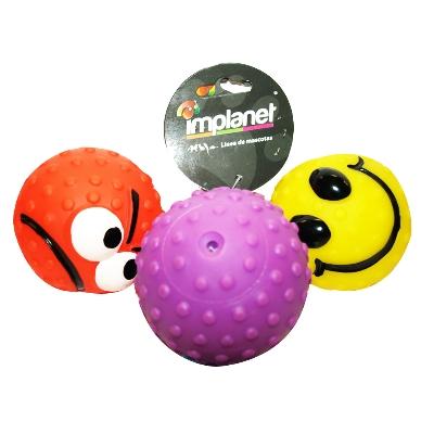 accesorio para mascotas implanet pelota caras