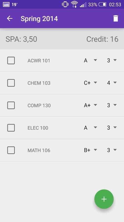 Ku gpa calculator android apps on google play ku gpa calculator screenshot ccuart Image collections
