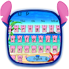 Pink Monster Keyboard Theme