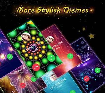 Phone Caller Screen - Color Call Flash Theme poster