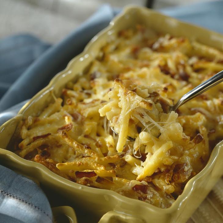 Light and Creamy Macaroni and Cheese Bake Recipe