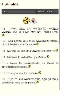 Swahili Quran Audio 310.0.0 MOD Apk Download 3