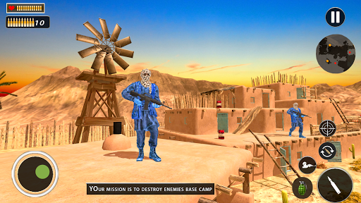 Free Firing Battleground Commando Survival Squad 1.0.5 screenshots 6