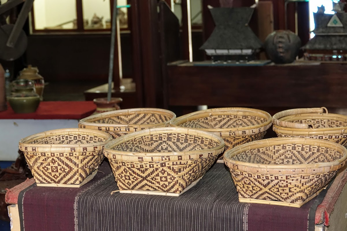 Baskets from North Sumatra