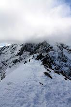 Photo: Sgurr Dearg in cloud