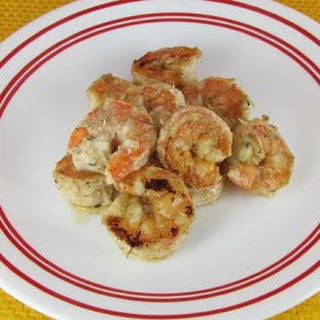 Tandoori Shrimp with Middle Eastern Spices.