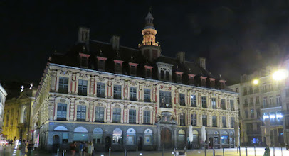 culturele stad Lille - by night (Grand Place)