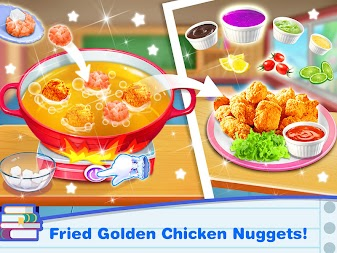 School Lunch Food Maker – Cooking Food Games APK screenshot thumbnail 2