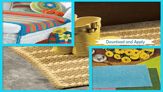 Easy Crochet Pattern Mats - náhled