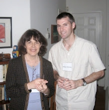 Photo: Janet Phelps and Assistant Professor Michael McBride