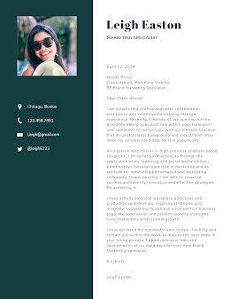 Leigh Easton - Cover Letter item