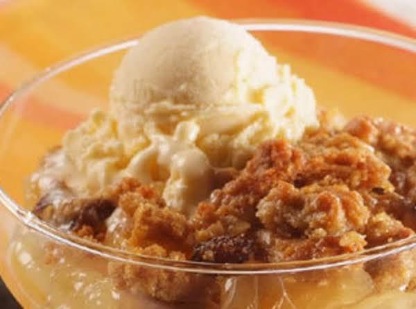 Apple -raisin Cobbler Pie