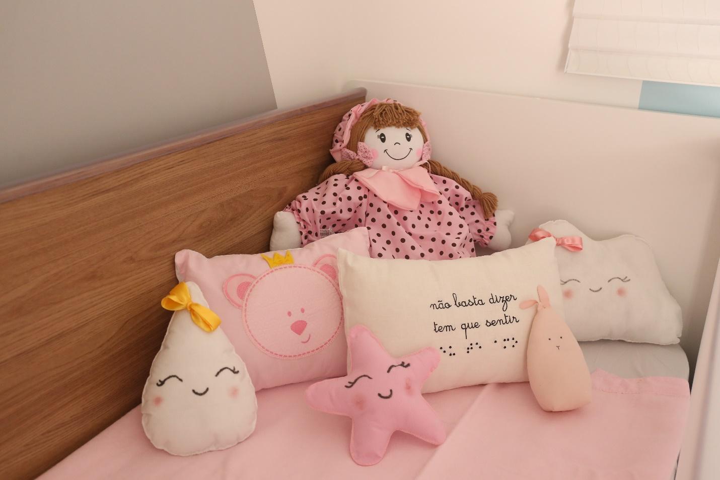 Quarto de bebe- quarto de bebe rosa, kit de berço para menina