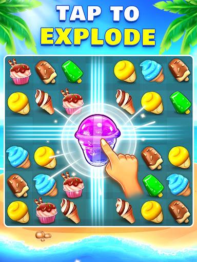 Ice Cream Paradise - Match 3 Puzzle Adventure apktram screenshots 10
