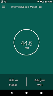 Network Speed Meter Pro Screenshot